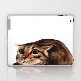 Funny Cat Laptop & iPad Skin