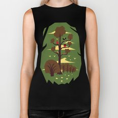 R is for Rabbit Biker Tank