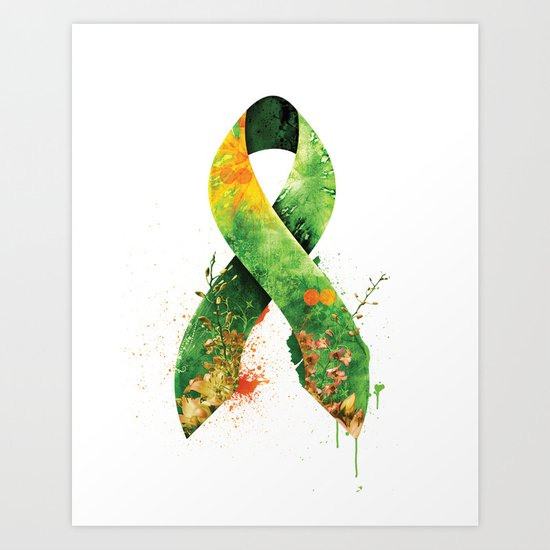 Nature Ribbon Art Print