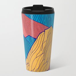 The Crosshatch Sky Travel Mug