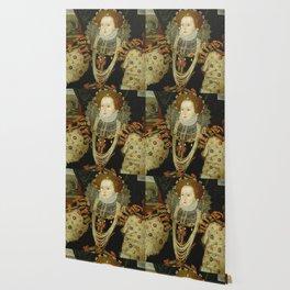 Portrait of Elizabeth I Wallpaper