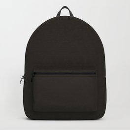 Solid Charcoal color Backpack