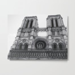 Notre Dame (Ouest) Metal Print