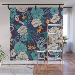 Jungle Pattern 003 Wall Mural