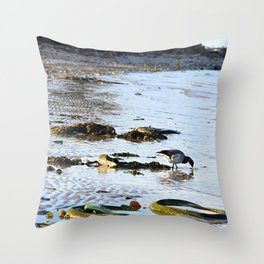 Trash Bird, #7 Throw Pillow