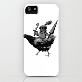 Unconventional Knight iPhone Case