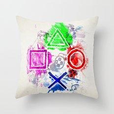 The Unstoppable Throw Pillow