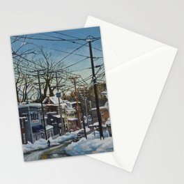 Ellicott City Flood Relief- Snow Stationery Cards