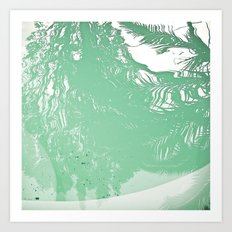Reflected Art Print