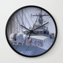 Turkish Navy Tuzla Class Patrol Boat Wall Clock