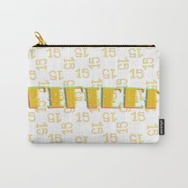 Project 2 (fifteen) Carry-All Pouch