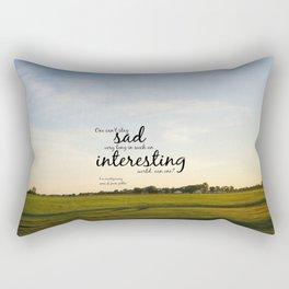 Interesting World Anne Shirley Rectangular Pillow