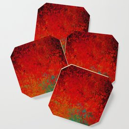 Figuratively Speaking, Abstract Art Coaster