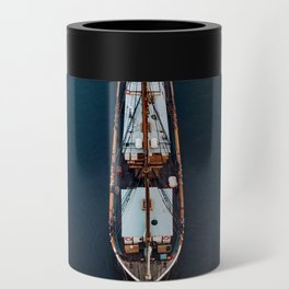 Sailing Ship in the Ocean Can Cooler
