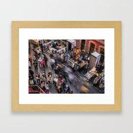 Motion (Melbourne Central, 2013) Framed Art Print