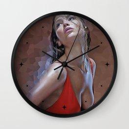 Jennifer Lawrence - Celebrity Art Wall Clock