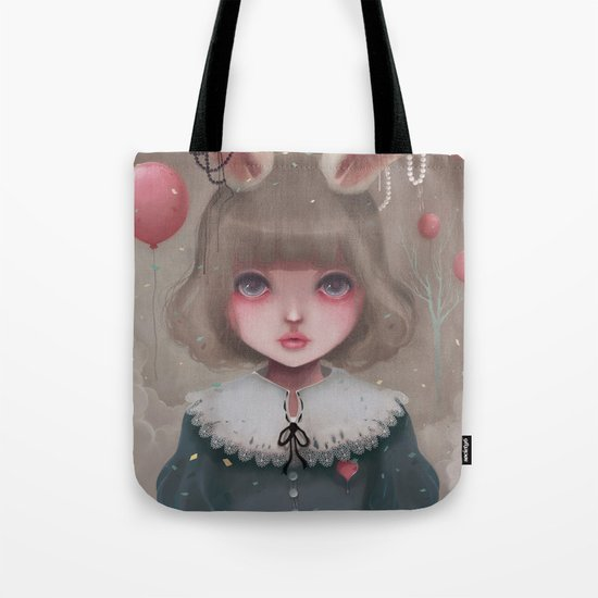 Juliette, balloons & pearls... Tote Bag