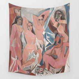 Pablo Picasso - Les Demoiselles d'Avignon Wall Tapestry