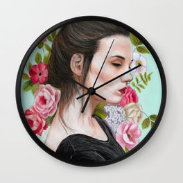Chess - Color Wall Clock
