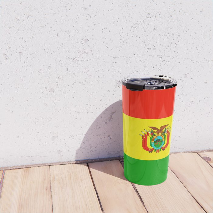 Flag of Bolivia Travel Mug