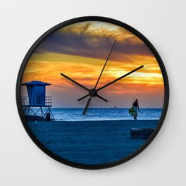 I'm Done Wall Clock
