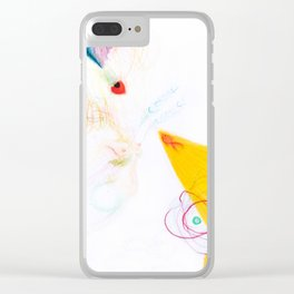 Flowerasm II - The Firefish Clear iPhone Case