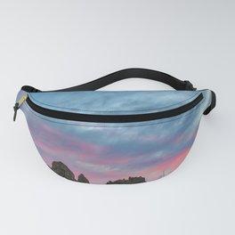 Pastel Rainbow Sunset : Tronna Pinnacles Fanny Pack