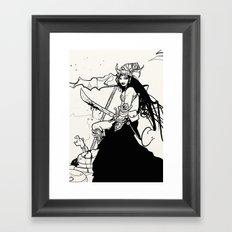 Priestess. Framed Art Print