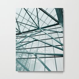 Modern Abstract Mall Metal Print
