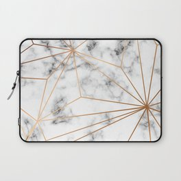 Marble & Gold 046 Laptop Sleeve