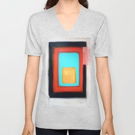 Living Rothko Unisex V-Neck