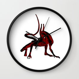 Xenomorfo Wall Clock