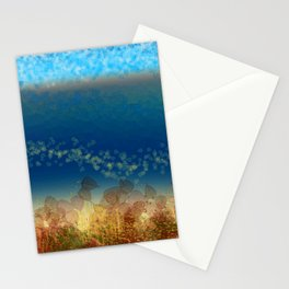 Abstract Seascape 01 w Stationery Cards