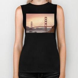 Golden Gate Bridge (San Francisco, CA) Biker Tank