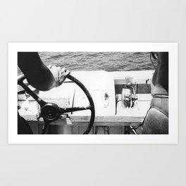 Boat Summer 1988 Kunstdrucke