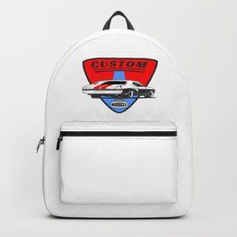 Custom Muscle Car Backpack