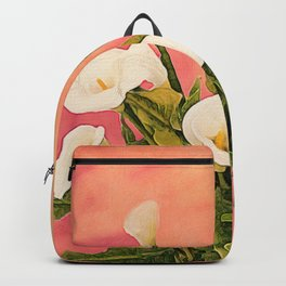 Monterey Calla Lilies Backpack