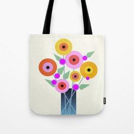 Floral Potpourri Tote Bag