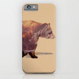 Glacier Grizzly iPhone Case