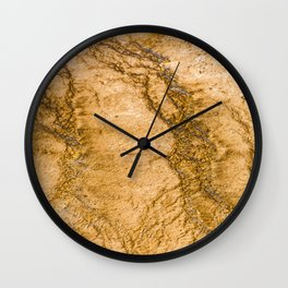 Grand Prismatic Terrace Wall Clock