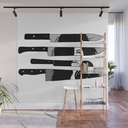 knife to meet you Wall Mural