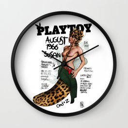 PLAYTOY - SUSAN 1966 - LIMITED ZEROSTILE FACTORY Wall Clock