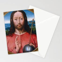 "Hans Memling ""Salvator Mundi"" Stationery Cards"