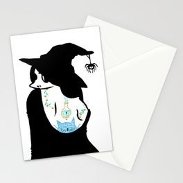 Inked Witch Stationery Cards