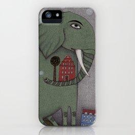 It's an Elephant! iPhone Case