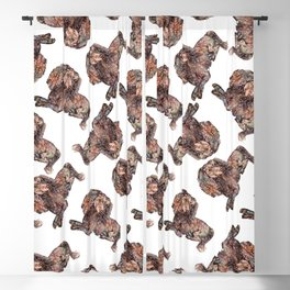 Dachshund Dog Blackout Curtain