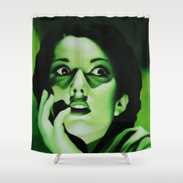 Paranoia Shower Curtain
