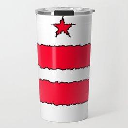 Fancy Flag: Washington, DC    District of Columbia Travel Mug