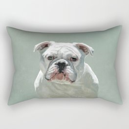 BILL the Bulldog Rectangular Pillow