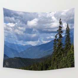 Muted Echo Wall Tapestry